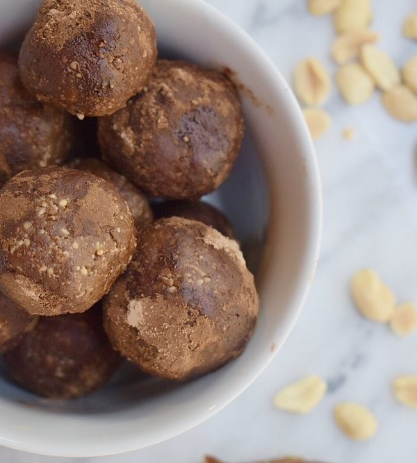 Chocolate Peanut Butter Cup Energy Balls