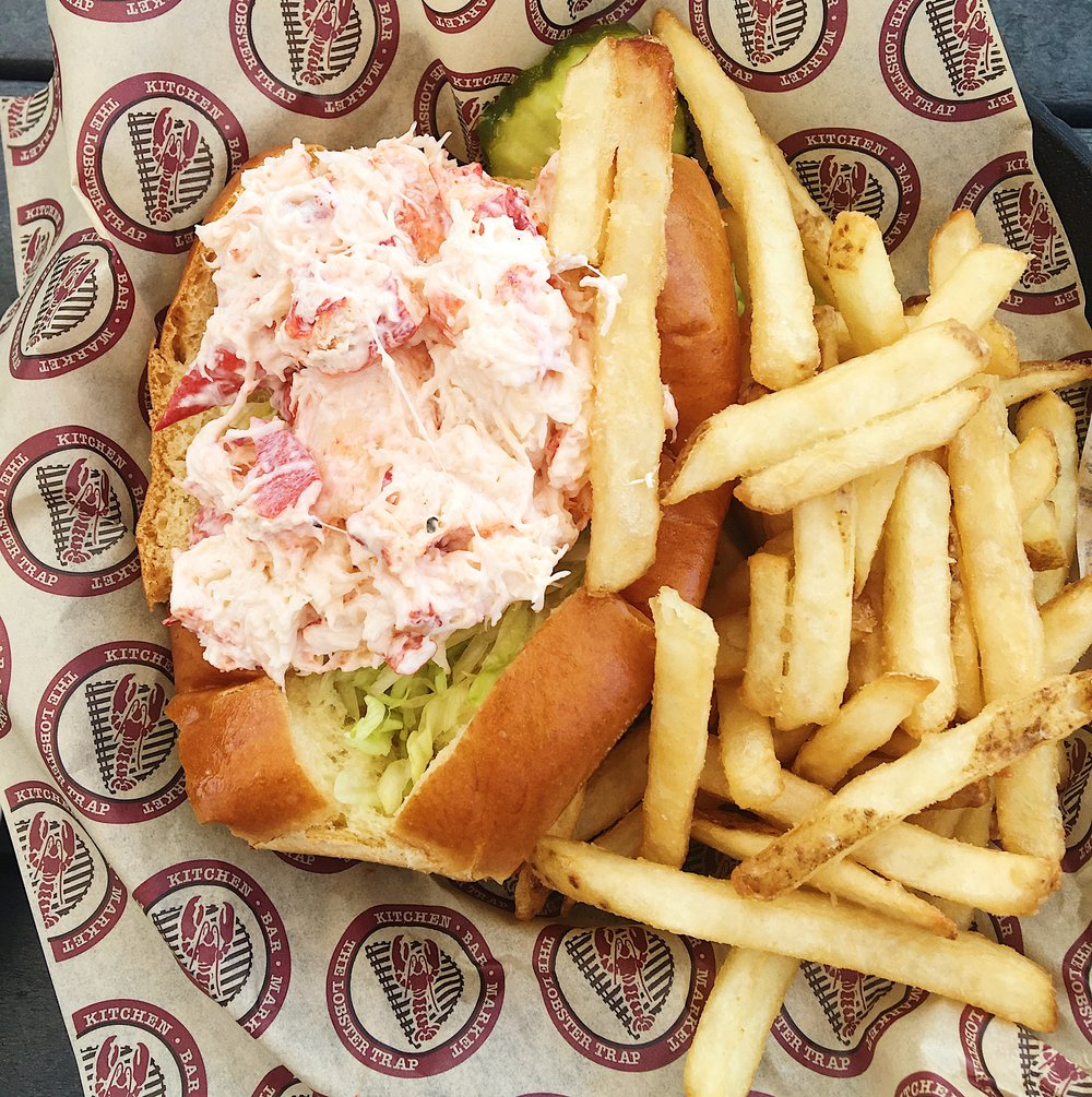First lobster roll of the season!