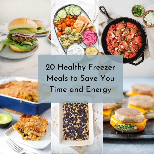 20 Healthy Freezer Meals to Save Time & Energy