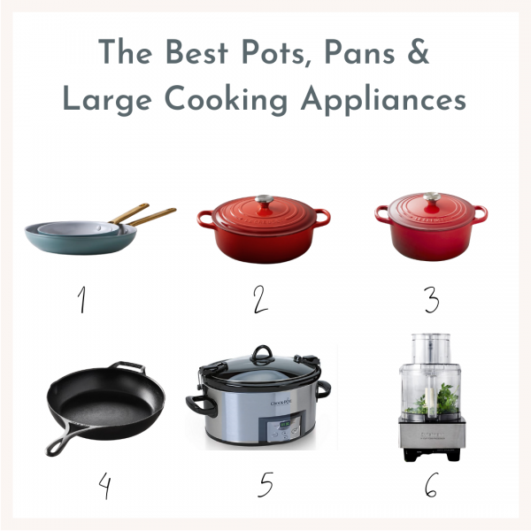 image with pictures of all the pots and pans linked below